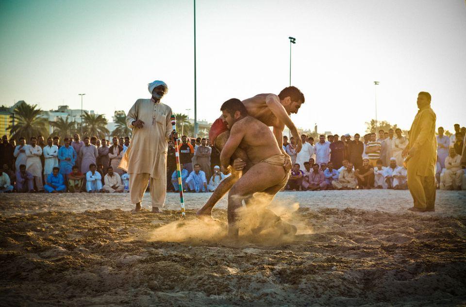 For Pakistani dockworkers in Dubai, kushti is a way of life