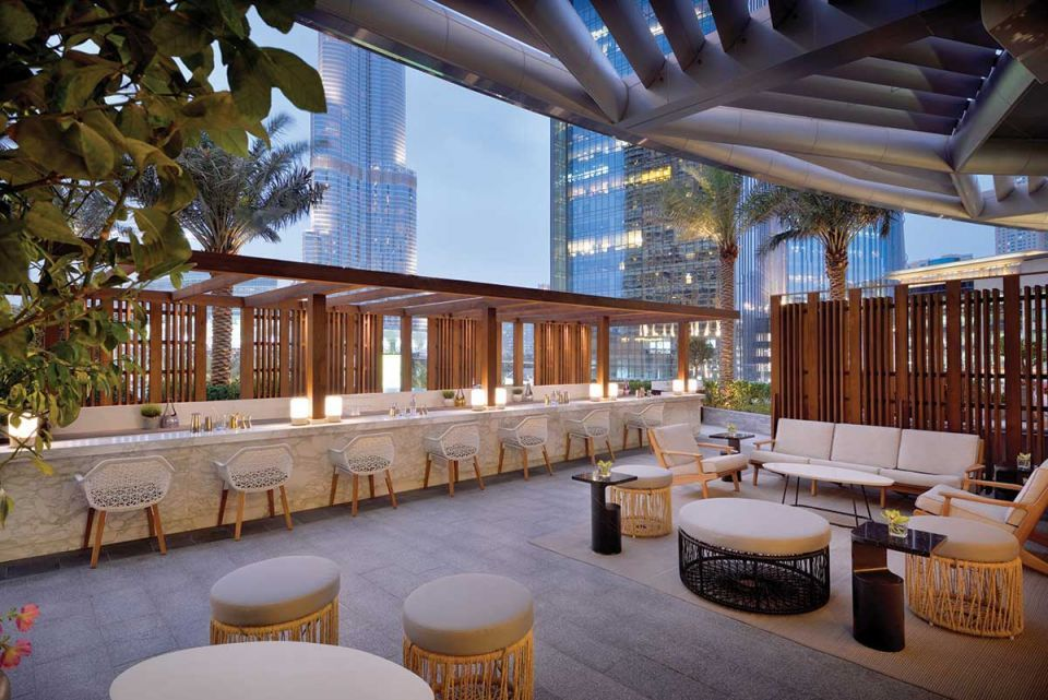 The Client Dinner: The Restaurant at the Address Boulevard