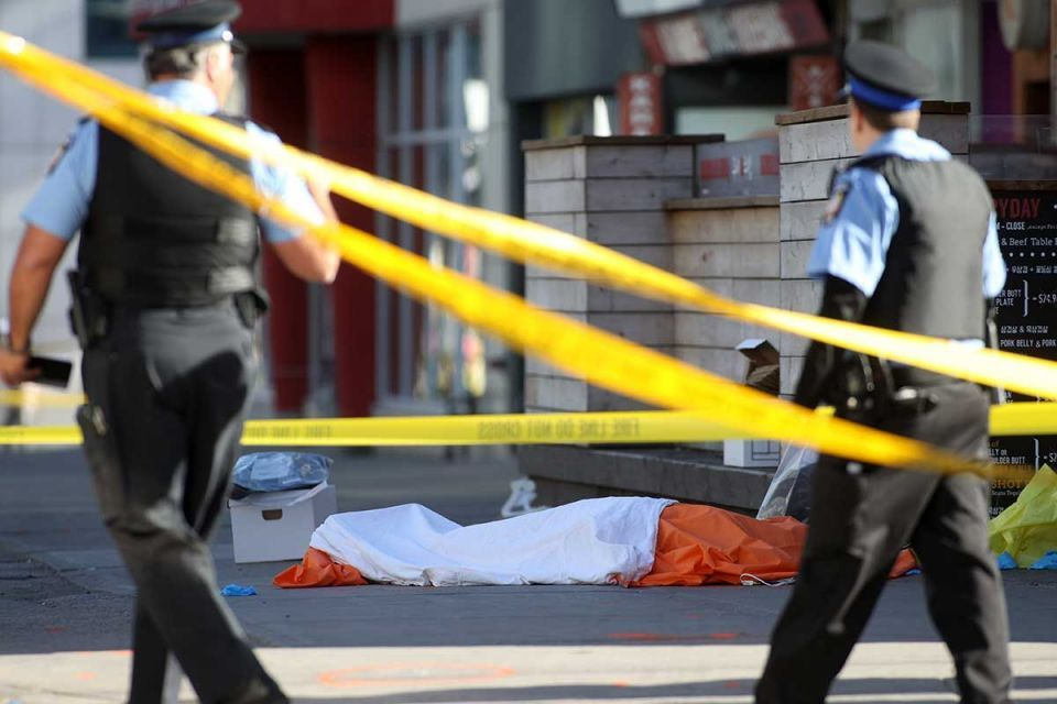 Ten dead in worst Canadian mass killing in almost 30 years