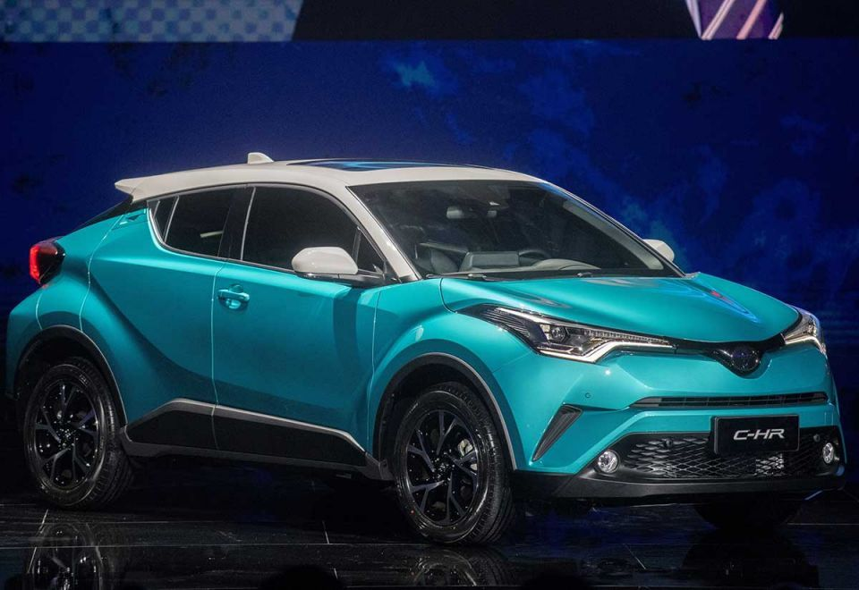 World's top automakers at Beijing auto show - in pictures