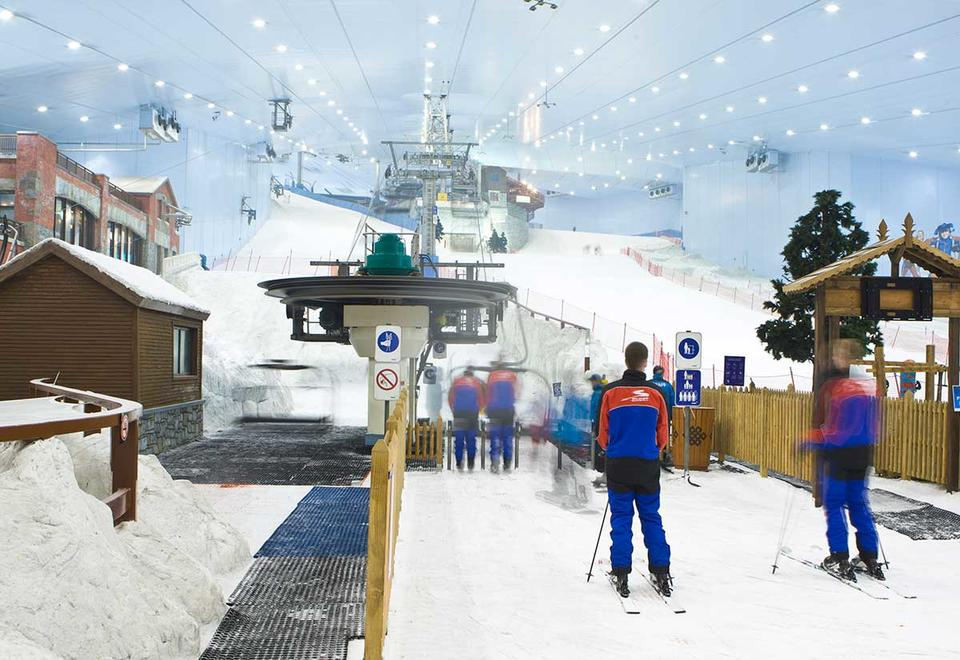 Ski Dubai 'uses less energy than a 120-room hotel'