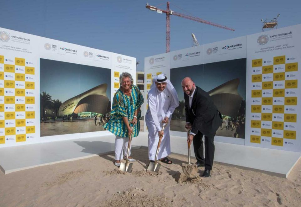 Luxembourg is first country to break ground on Expo 2020 pavilion