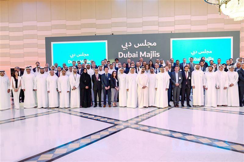 Dubai ruler holds talks to strengthen international business ties