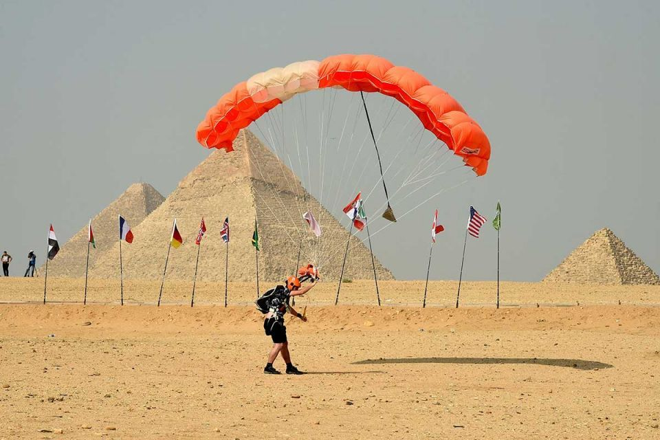 In pictures: Egypt's first air sport festival
