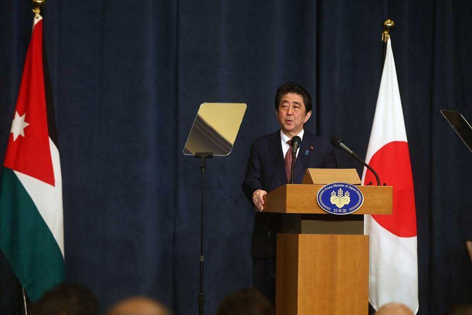 In pictures: Japanese Prime Minister visits Jordan