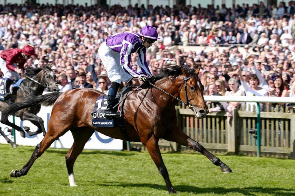 In pictures: Ruler of Dubai attends QIPCO 2000 Guineas Stakes