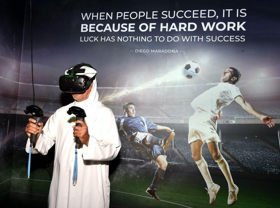 Dubai Sports Council chief hails launch of VR arcade