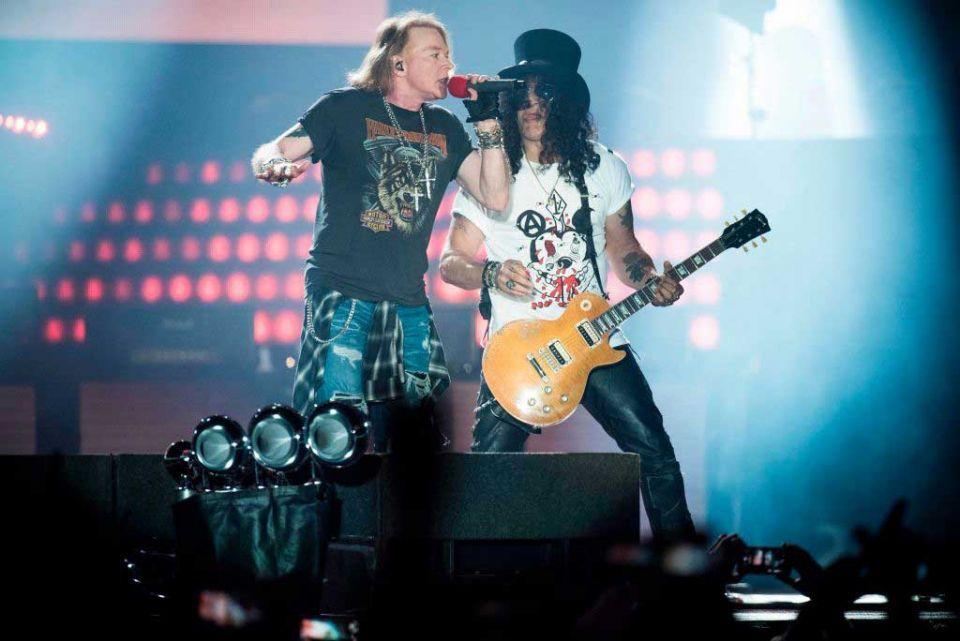 Guns N' Roses to play Abu Dhabi's F1 concert