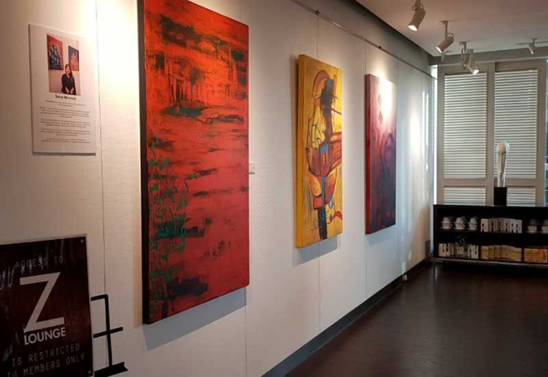 In pictures: UAE-based artist Sanaa Merchant launches Z Gallery exhibition