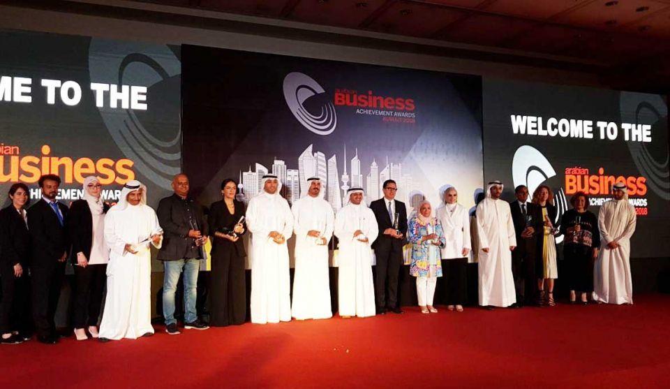 Kuwait companies honoured at Arabian Business Achievement Awards
