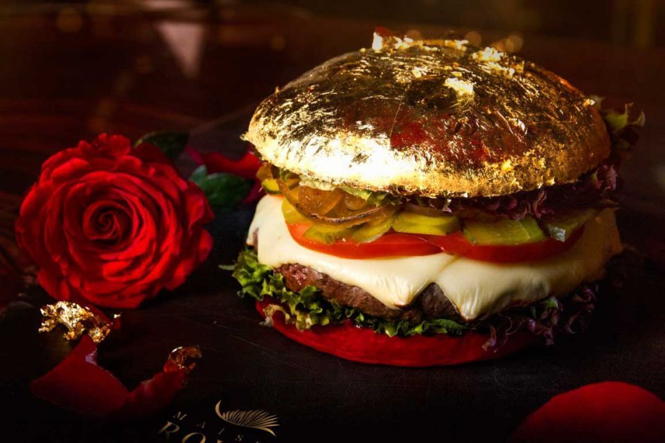 Would you pay $100 for a 24-carat gold burger in Dubai?