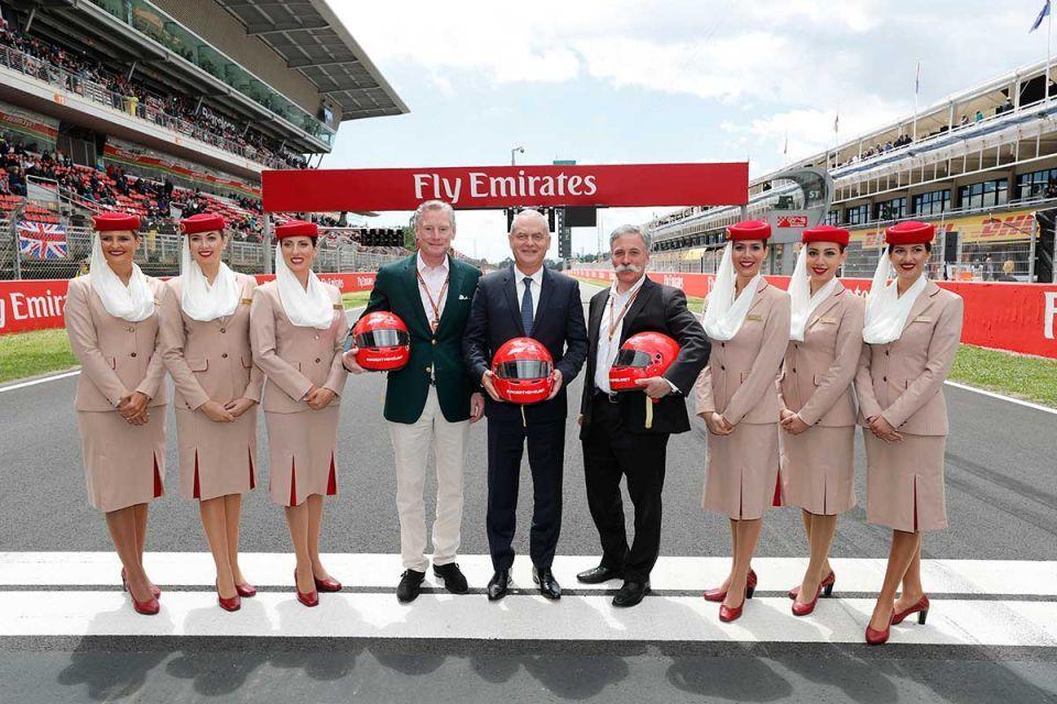 Emirates renews, expands F1 global partnership
