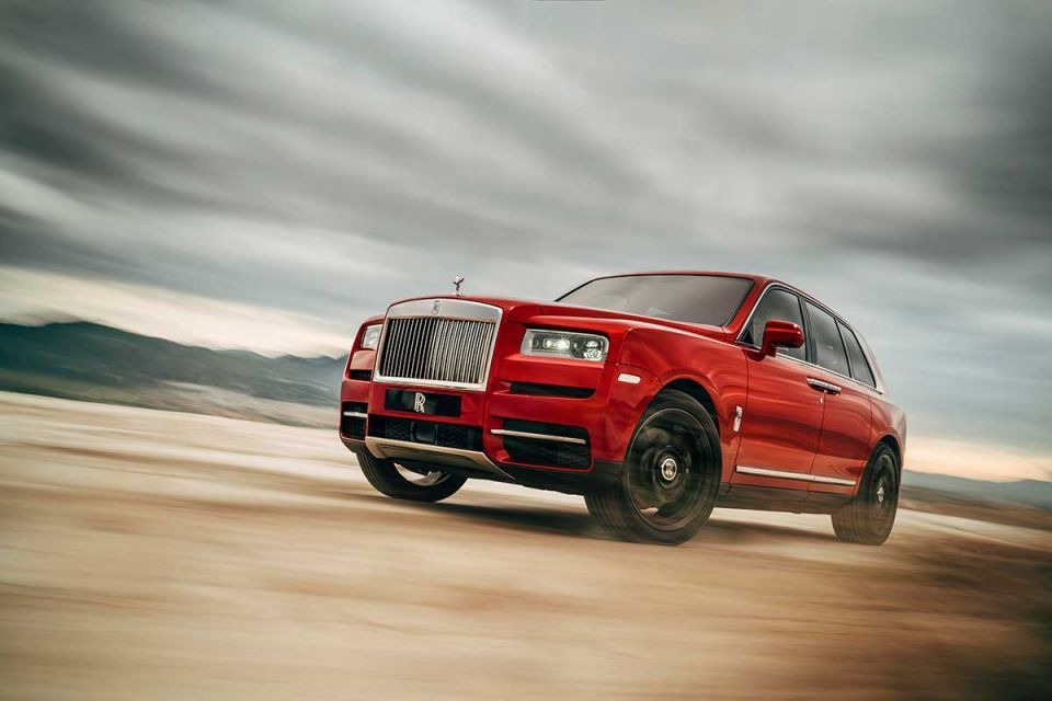 Rolls-Royce debuts the $325,000 Cullinan, its first SUV
