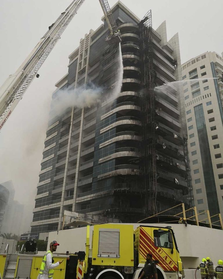 Dubai Marina's Zen Tower fire started in ground floor business - police