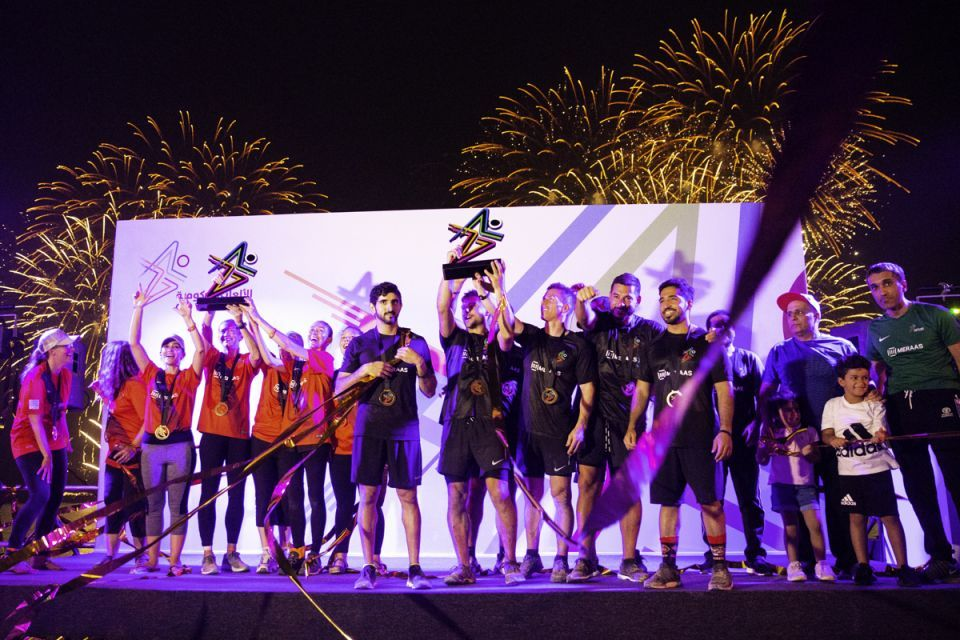 In pictures: F3 Team lead by Dubai Crown Prince and US Consulate clinches the Gov Games title