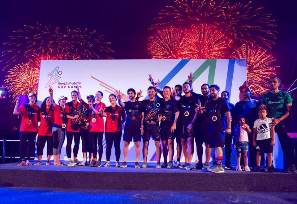 Dubai Crown Prince leads  his F3 team to victory at Gov Games