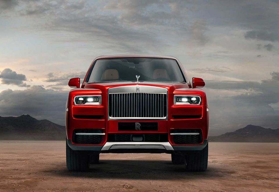 First look at the Rolls-Royce's new Cullinan luxury SUV