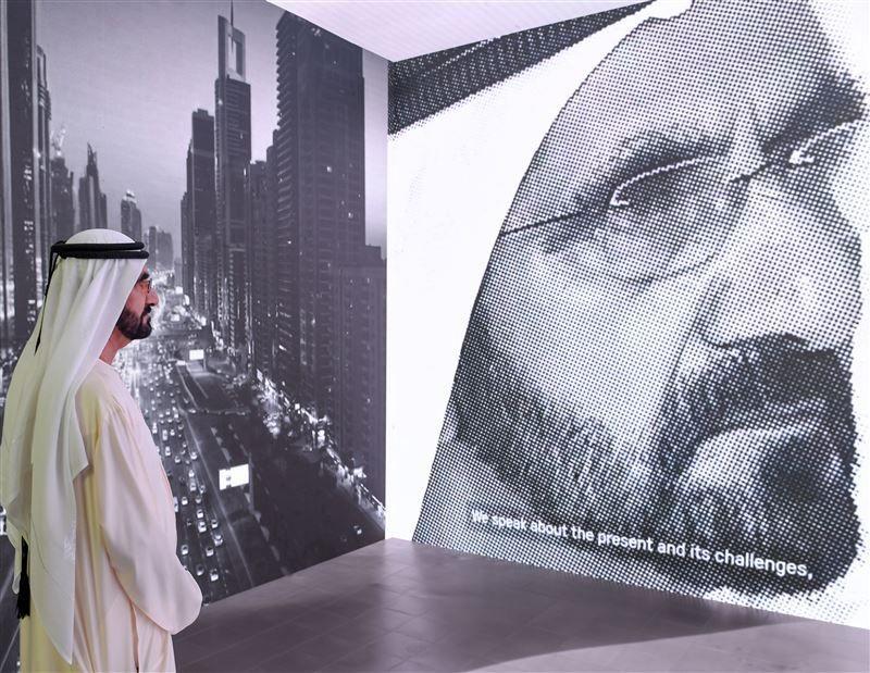 Dubai ruler hails Area 2071 as 'bridge to the future'