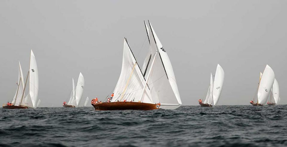 In pictures: Al Gaffal traditional dhow sailing race