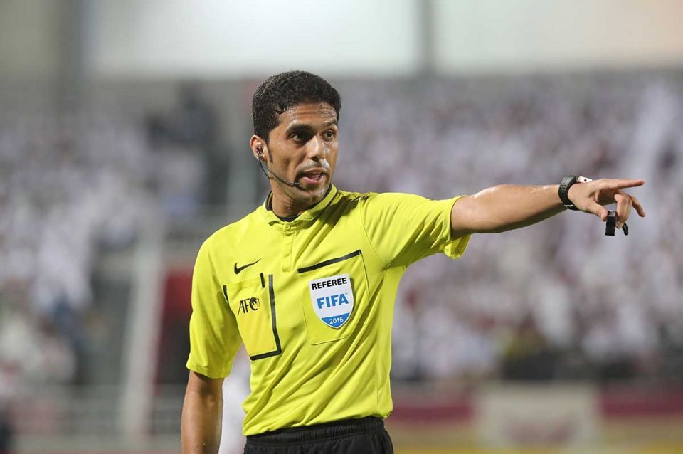 Saudi referee deselected from 2018 World Cup duty