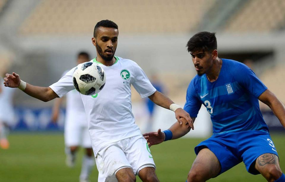 In pictures: Saudi Arabia win over Greece in World Cup friendly