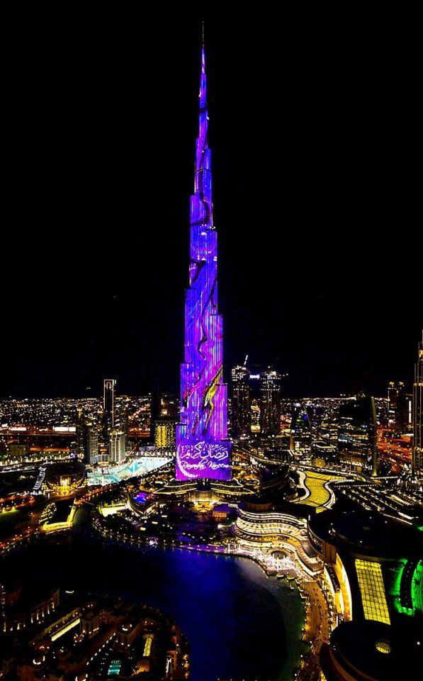 Burj Khalifa unveils new shows to mark the Holy Month of Ramadan