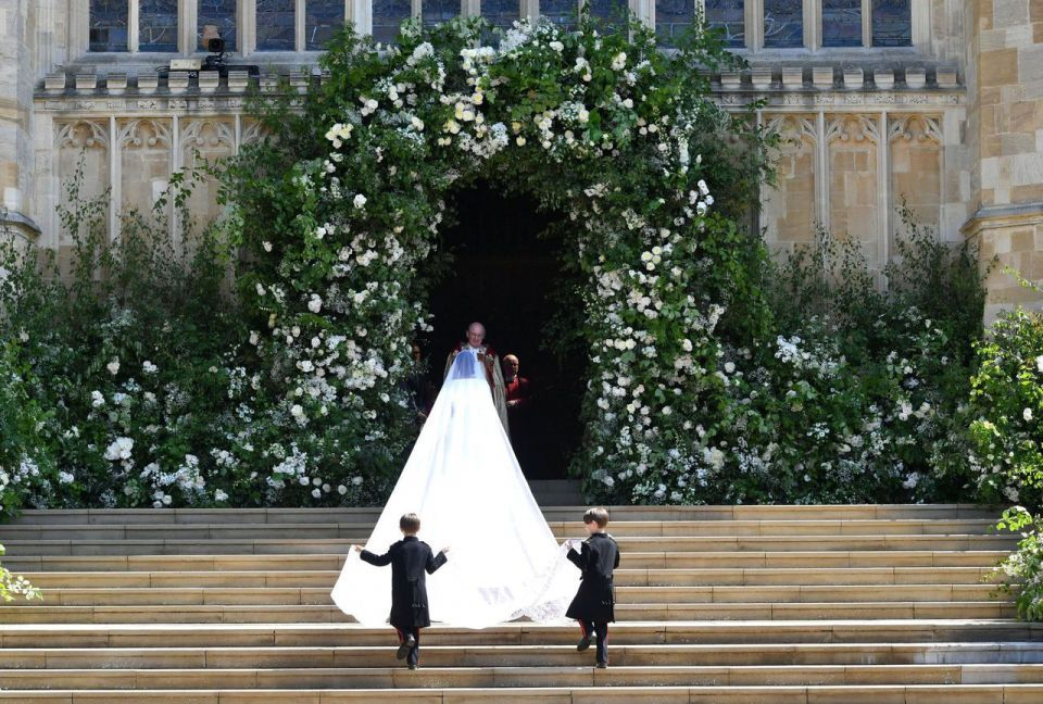 Markle's wedding dress is a big win for LVMH's Givenchy