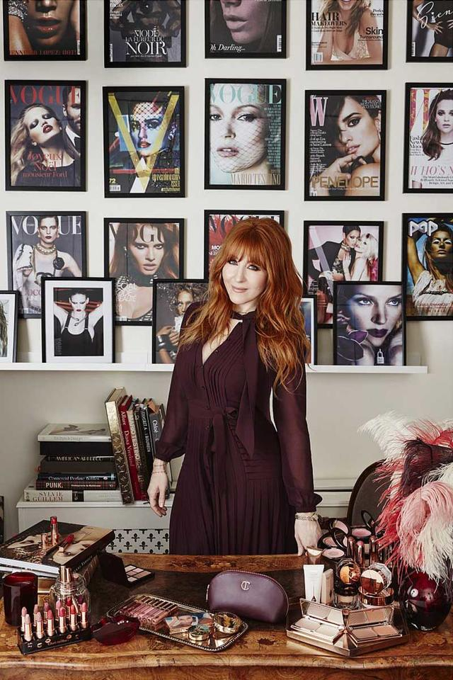 Celebrity makeup artist Charlotte Tilbury opens beauty store in Dubai