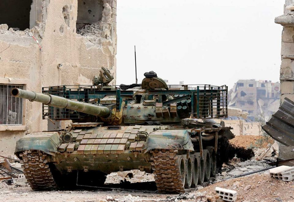 ISIL begins quitting last pocket of Syria's capital