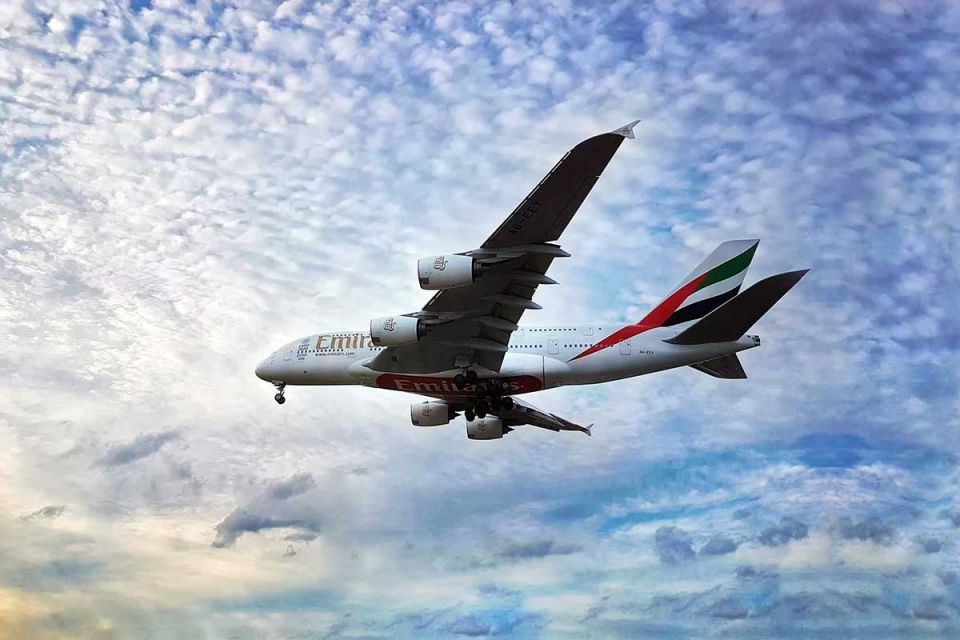 Emirates airline offers discounted fares on flights to popular destinations