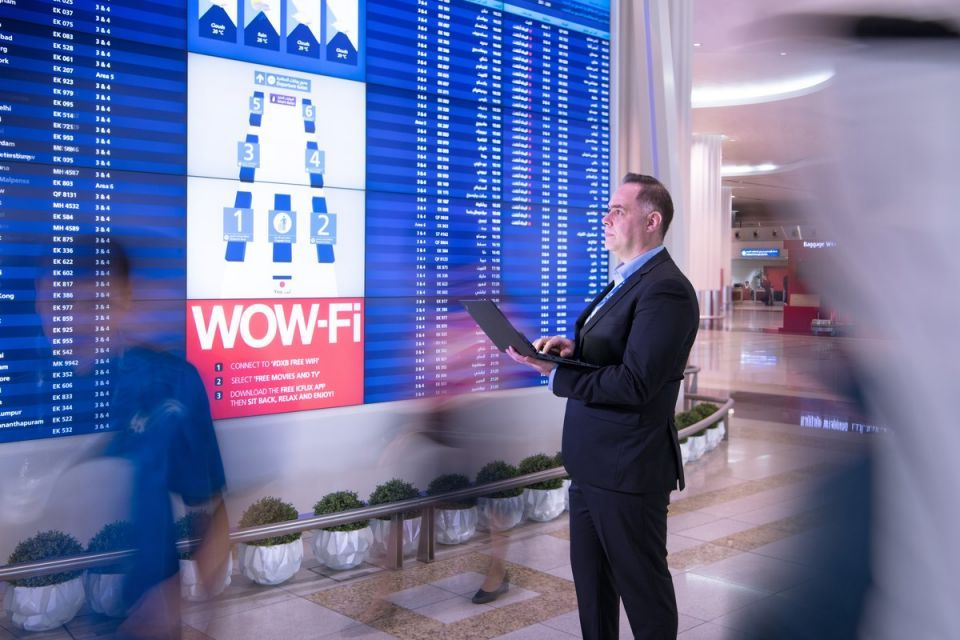 Dubai Airports rolls out new high-tech info displays