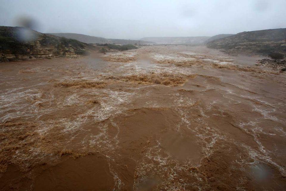 In pictures: Cyclone Mekunu strikes southern coast of Oman