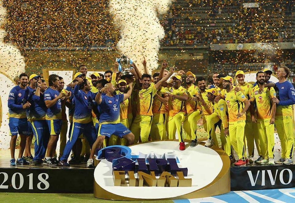 Chennai Super Kings win world's wealthiest cricket tournament
