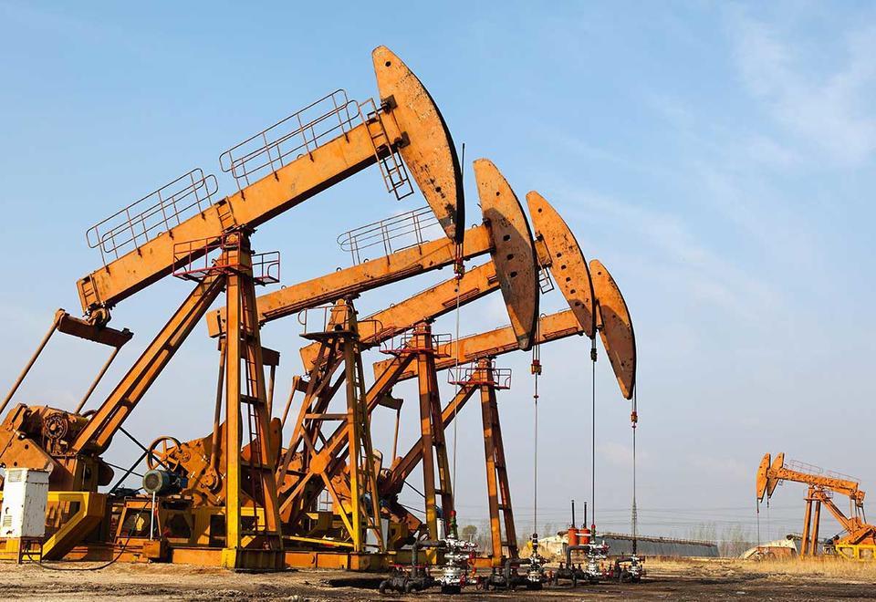 Oil slumps near $64 as OPEC clash looms and trade war escalates