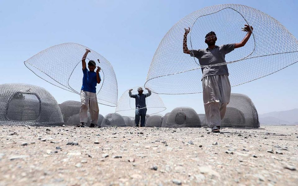 In pictures: Kalba in the UAE is a hub for the craft of weaving fishing cages