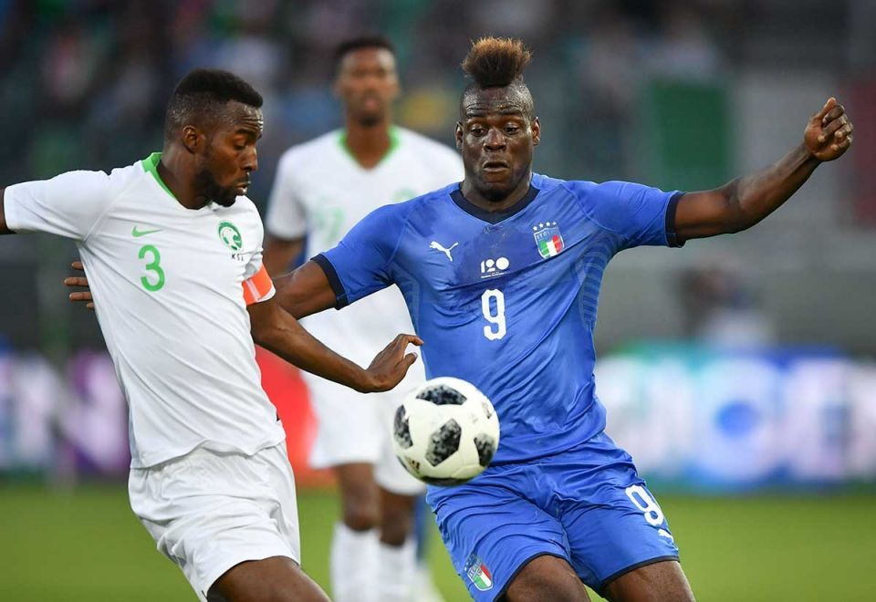 In pictures: Saudi Arabia World Cup friendly against Italy