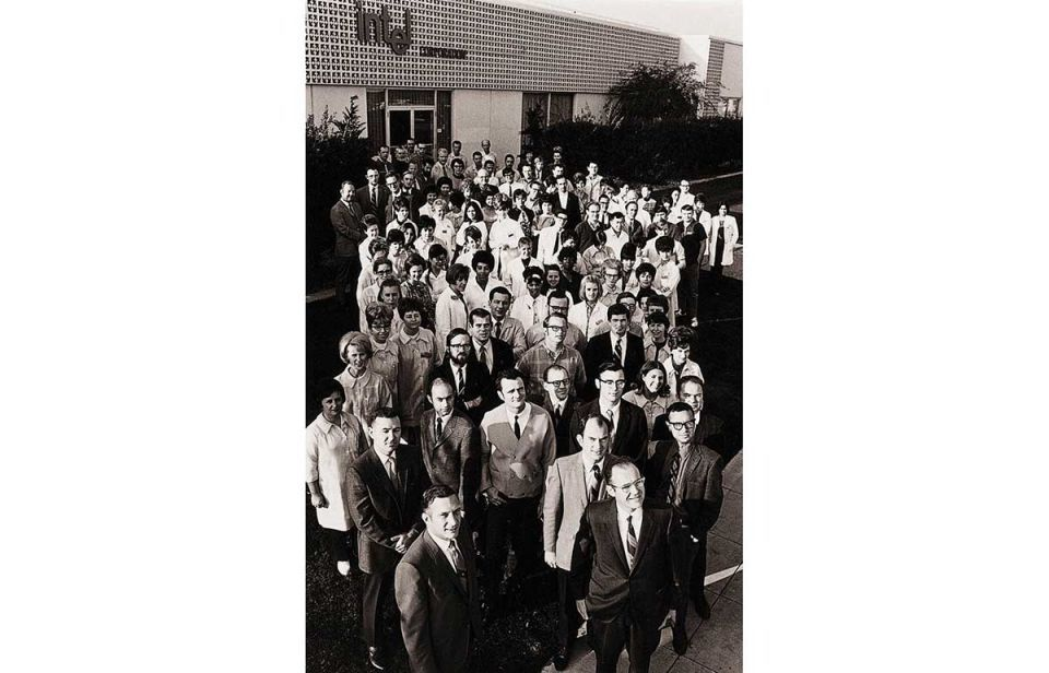 Fifty years of Intel - in pictures