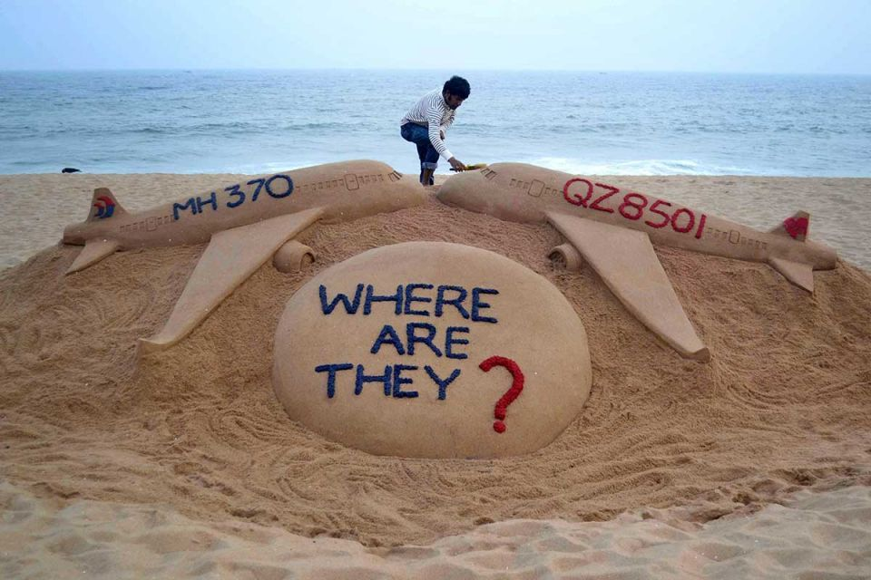 Four-year search for missing flight MH370 comes to an end - in pictures