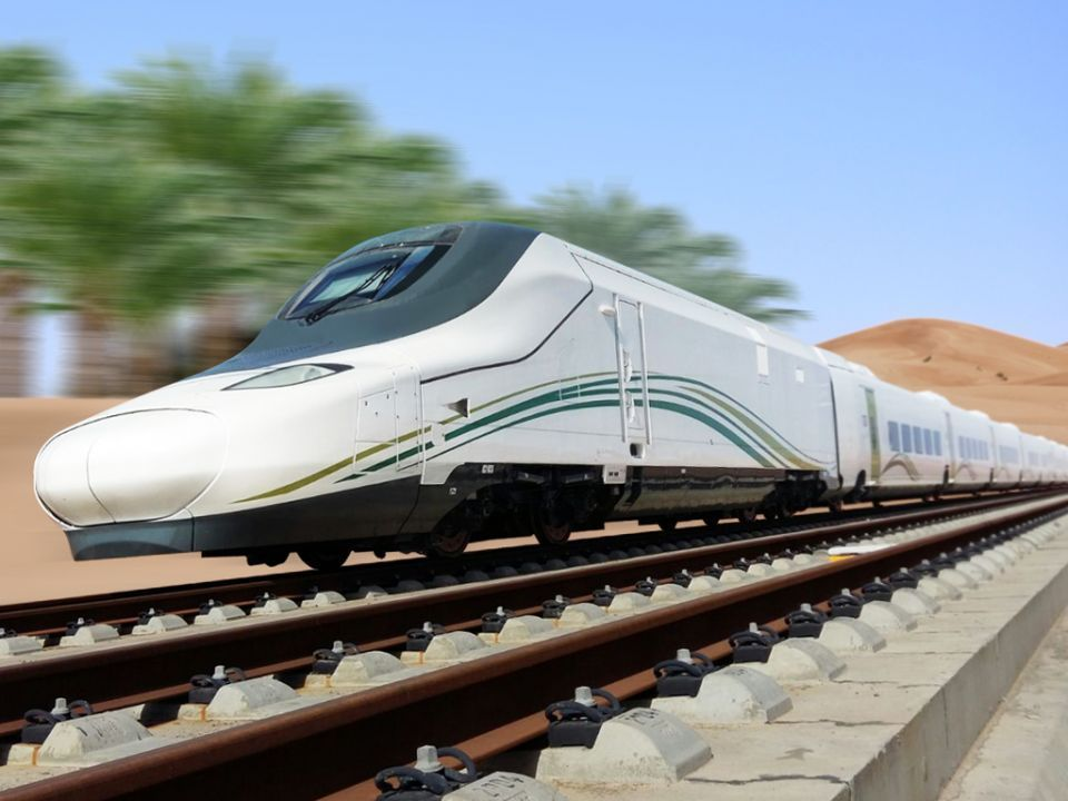 Saudi high speed train announces launch date for passengers