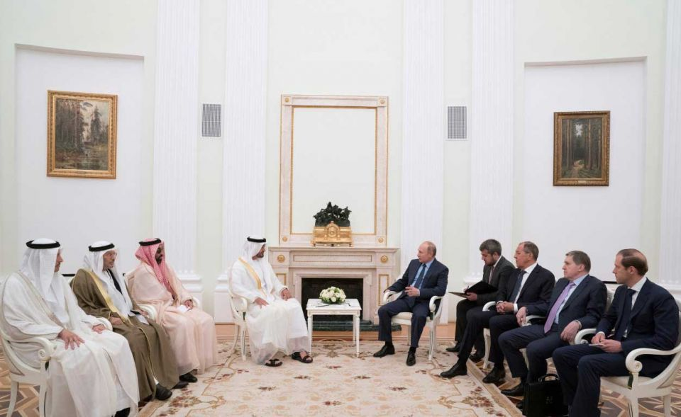In pictures: Crown Prince of Abu Dhabi meets Russian President Vladimir Putin in Moscow