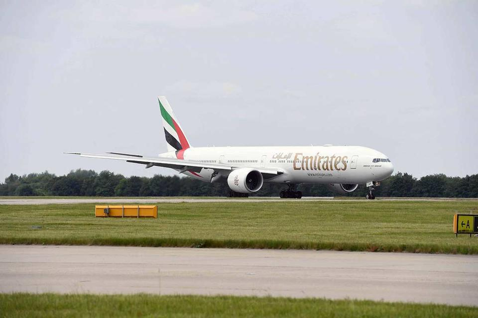 Photos: Emirates new 'game changing' Boeing 777 touched down in London Stansted