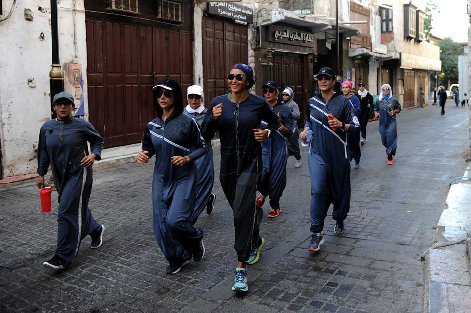 In pictures: Fitness-friendly abayas by Saudi designer Eman Joharjy