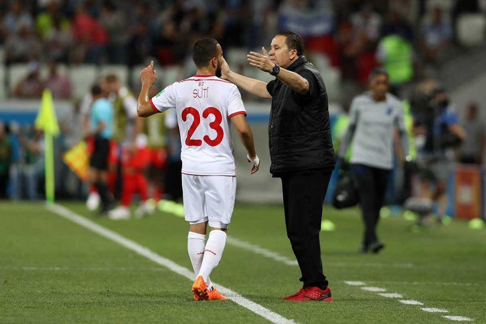 Coach says Tunisia beaten by 'optimal striker' Kane