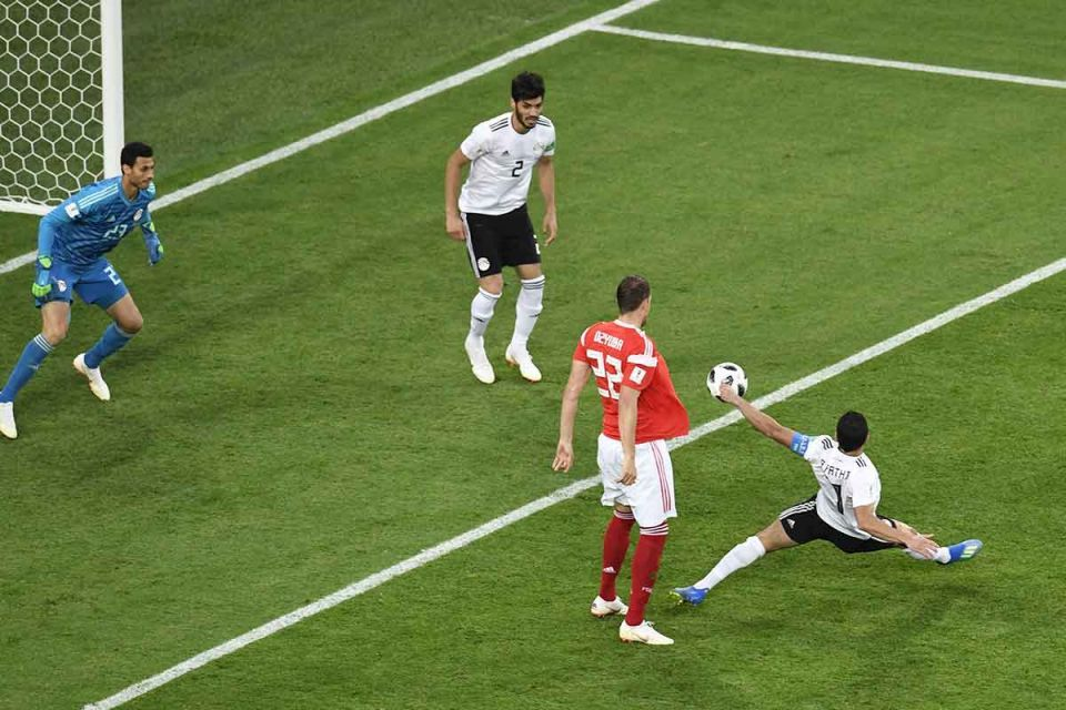 Russia World Cup 2018: Host nation on verge of last 16 by easing past Egypt 3-1 - photos