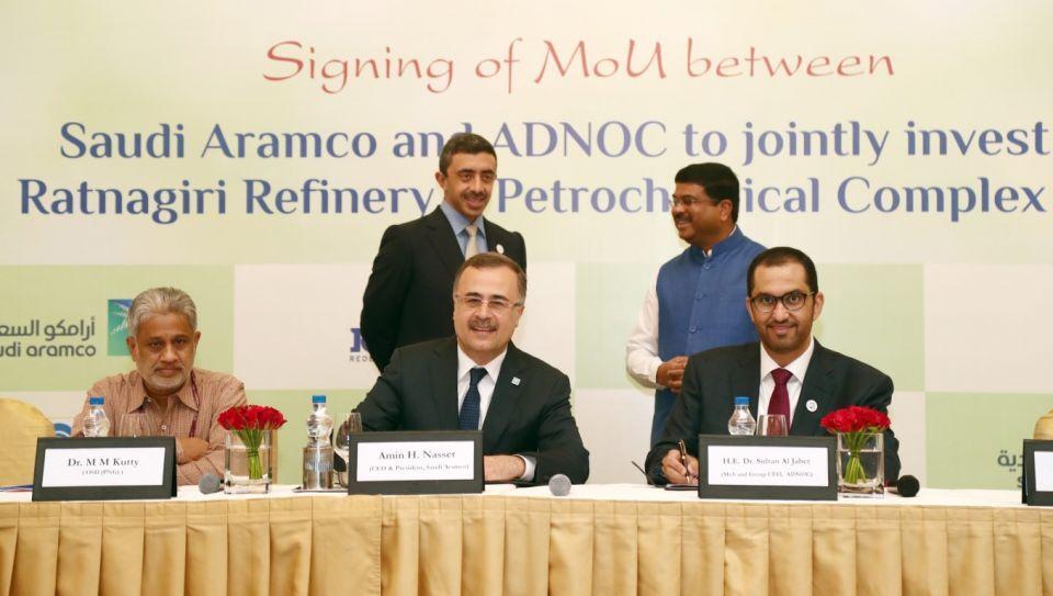 ADNOC, Saudi Aramco to partner on development of $44bn Indian mega refinery