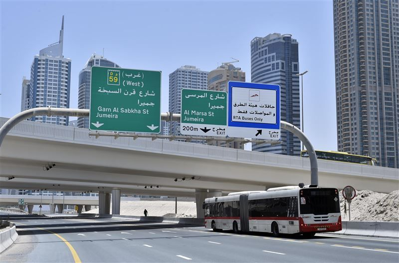 Dubai's RTA to activate phase 3 of bus lanes project in July