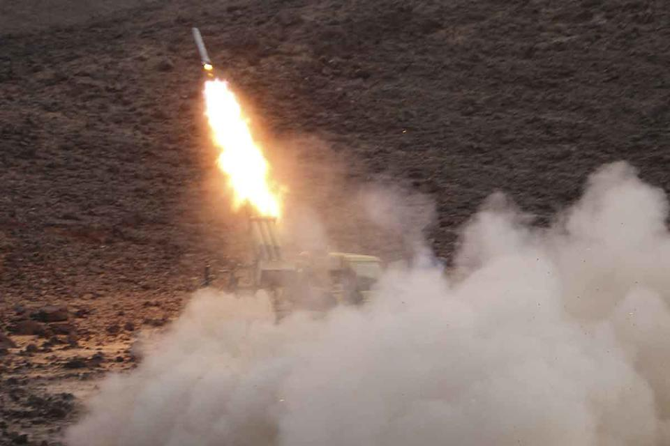 One dead, 11 wounded as Saudi intercepts Yemen rebel missile