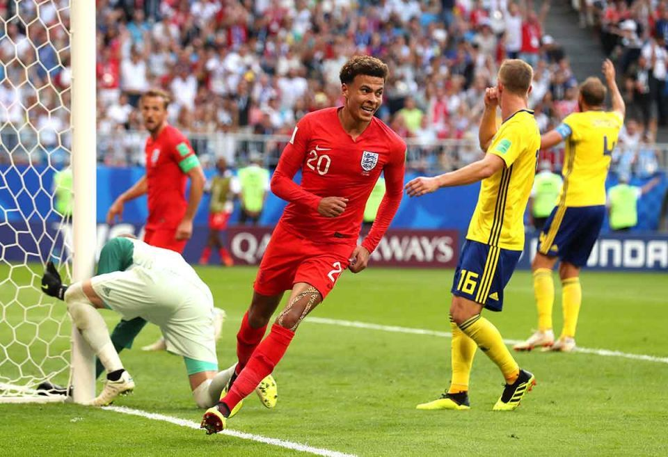 2018 FIFA World Cup:  England 2-0 win against Sweden to clinch World Cup semi-final - photos