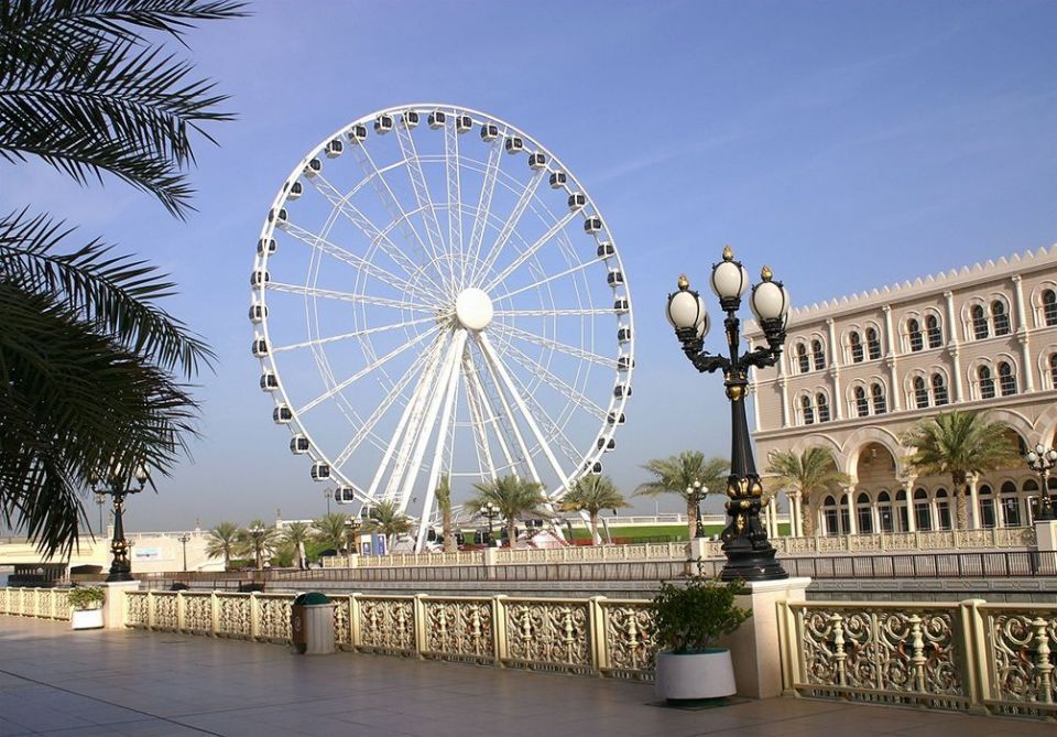 Sharjah moves giant wheel tourist attraction after 13 years