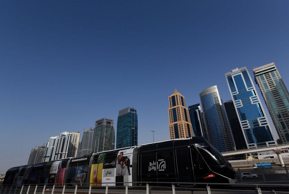 Dubai Tram service suspended after vehicle collision